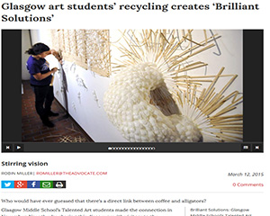 Brilliant Solutions: Glasgow Middle School Talented Art Students' Project